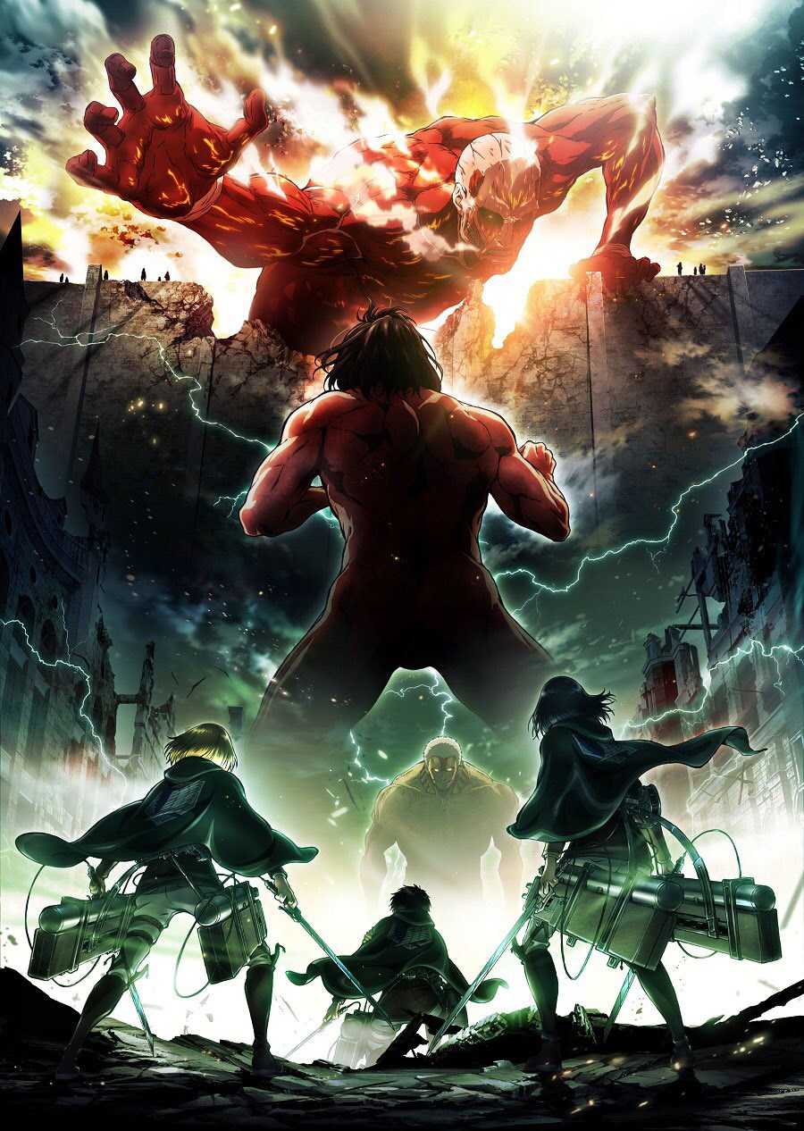 Attack on Titan Season 2 Slated for Spring 2017 – Cast & Staff Return with New Director