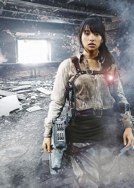 Attack on Titan live-action movie Ayame Misaki as Hiana