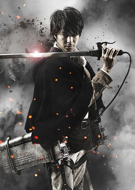 Attack on Titan live-action movie Hiroki Hasegawa as Shikishima