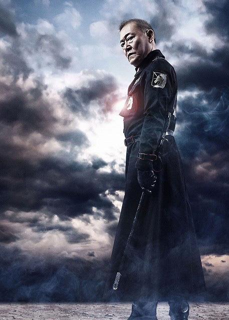 Attack on Titan live-action movie Jun Kunimura as Kubal