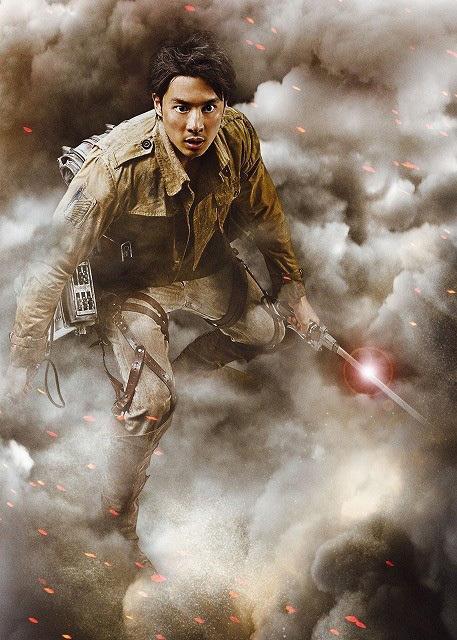 Attack on Titan live-action movie Shu Watanabe as Fukushi