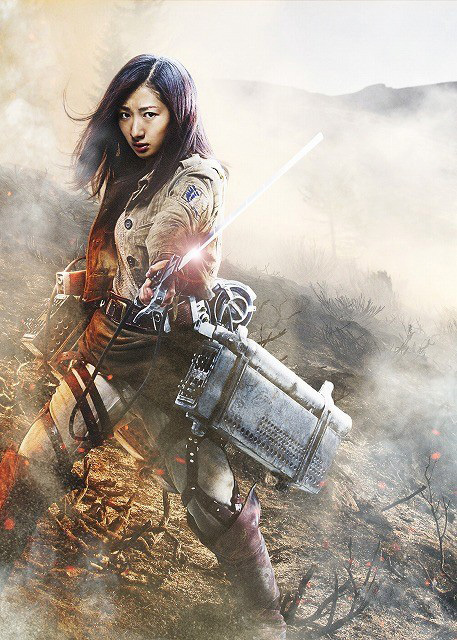 Attack on Titan live-action movie character Rina Takeda as Lil