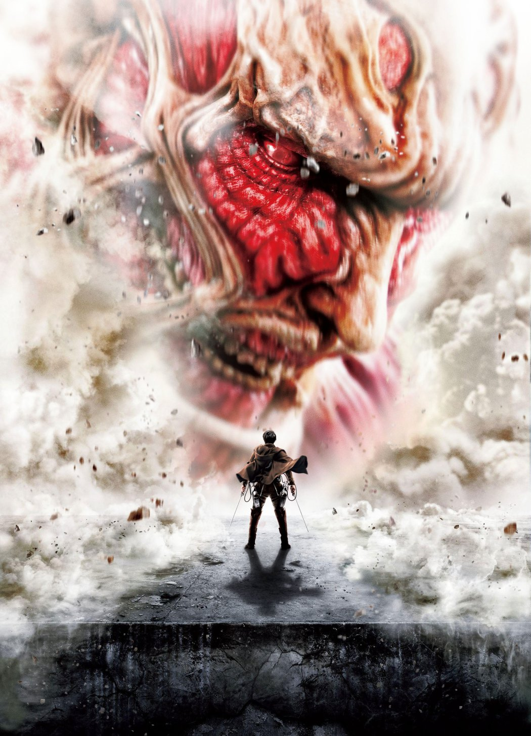 Attack on Titan live action movie visual