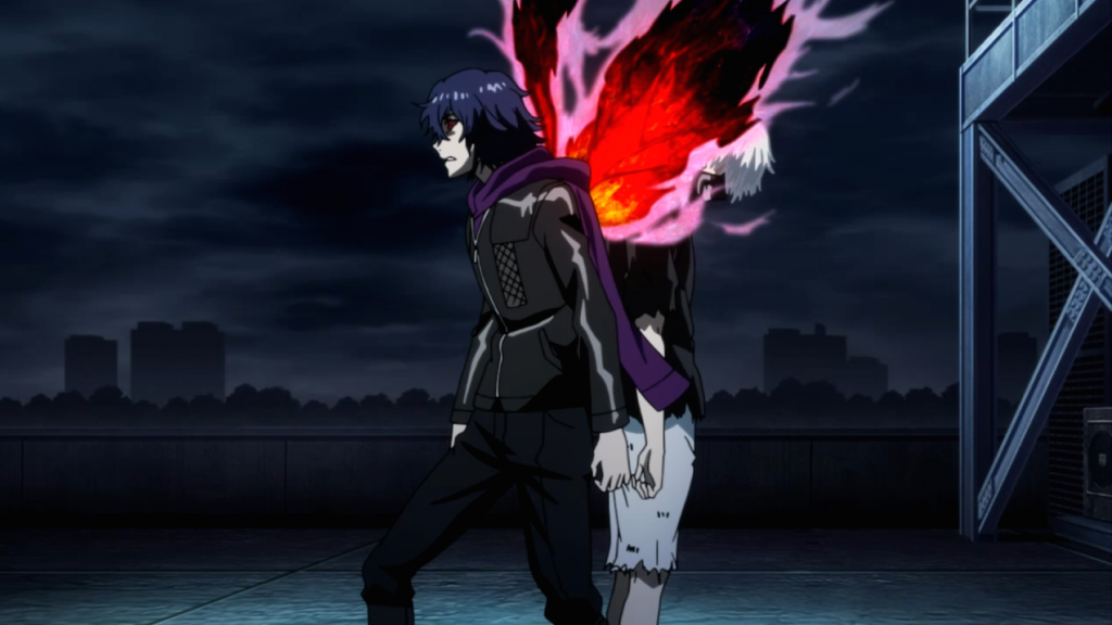 Ayato Kirishima Ken Kaneki Tokyo Ghoul Season 2 Root A Screenshot Haruhichan.com