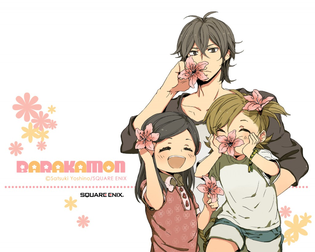 Barakamon anime series