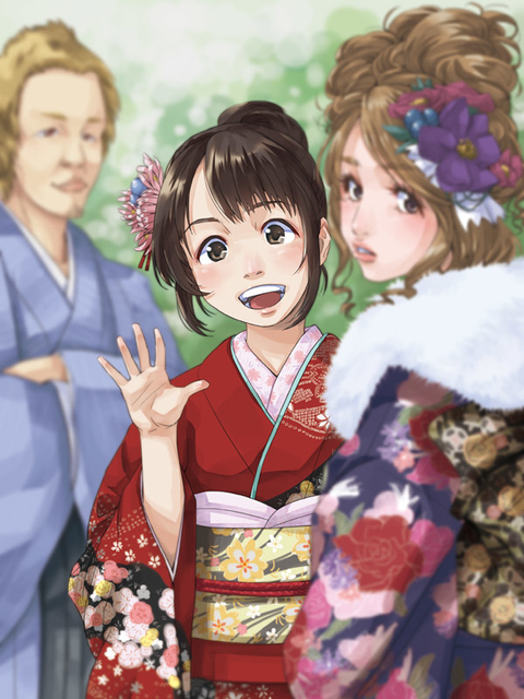 Beautiful Coming of Age Day Masterpieces by Pixiv Artists 12