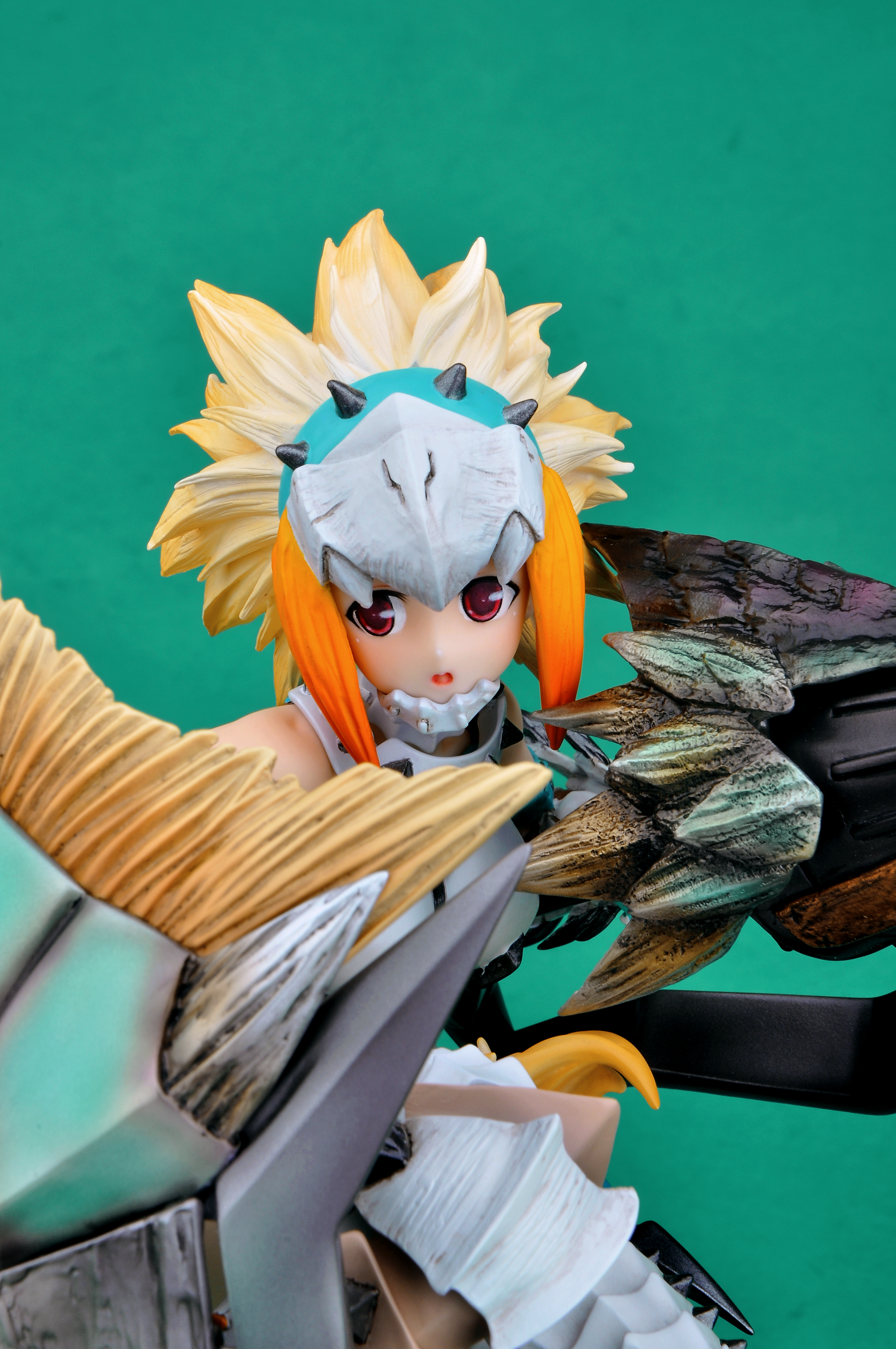 Berio Armor Hunter Monster Hunter prepainted figure haruhichan.com Monster Hunter video game figure 05