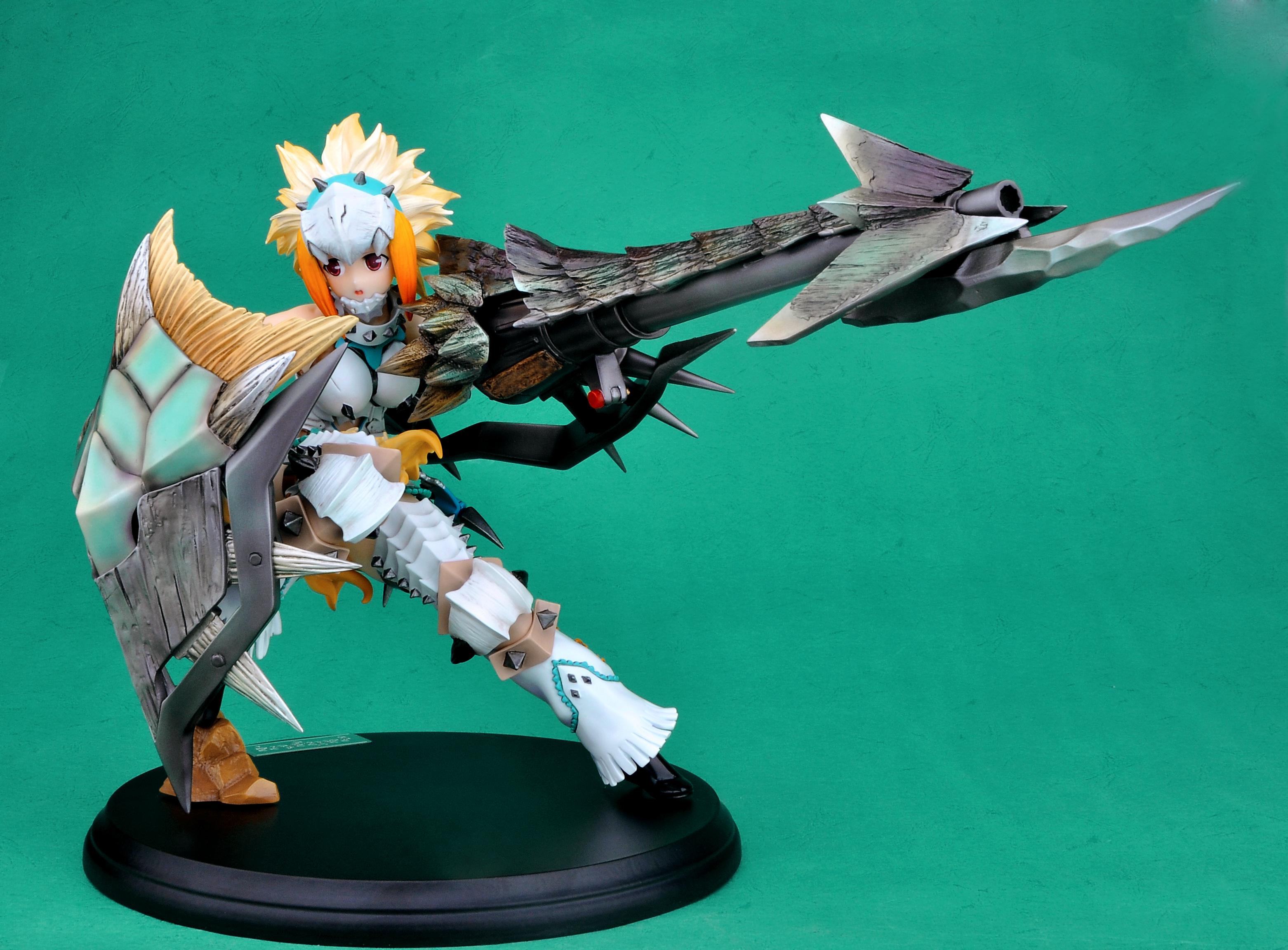 Berio Armor Hunter Monster Hunter prepainted figure haruhichan.com Monster Hunter video game figure 11