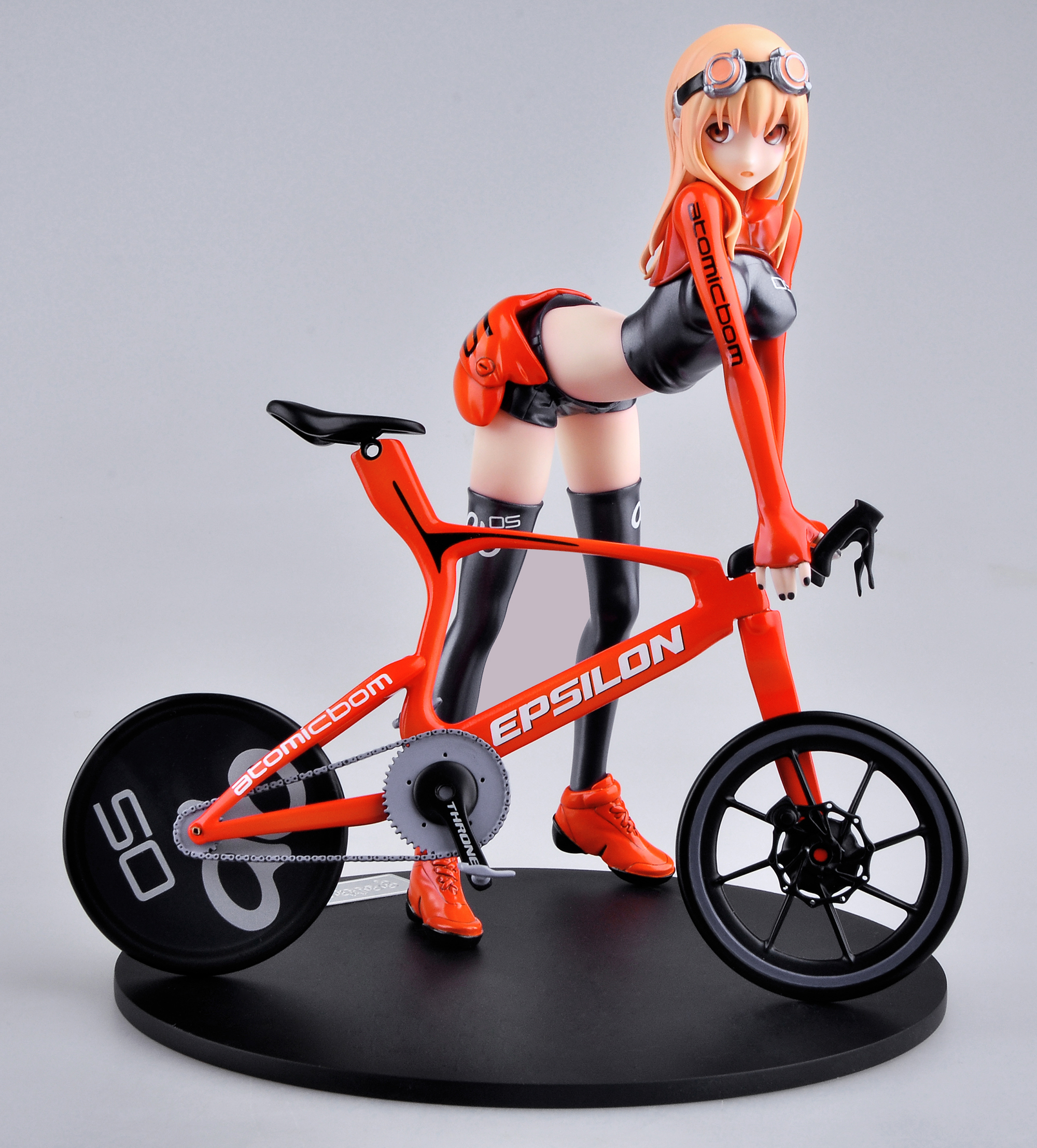 Bicycle & Girl Version 3 Figure by E2046 haruhichan.com E2046 Gathering Series figure 01