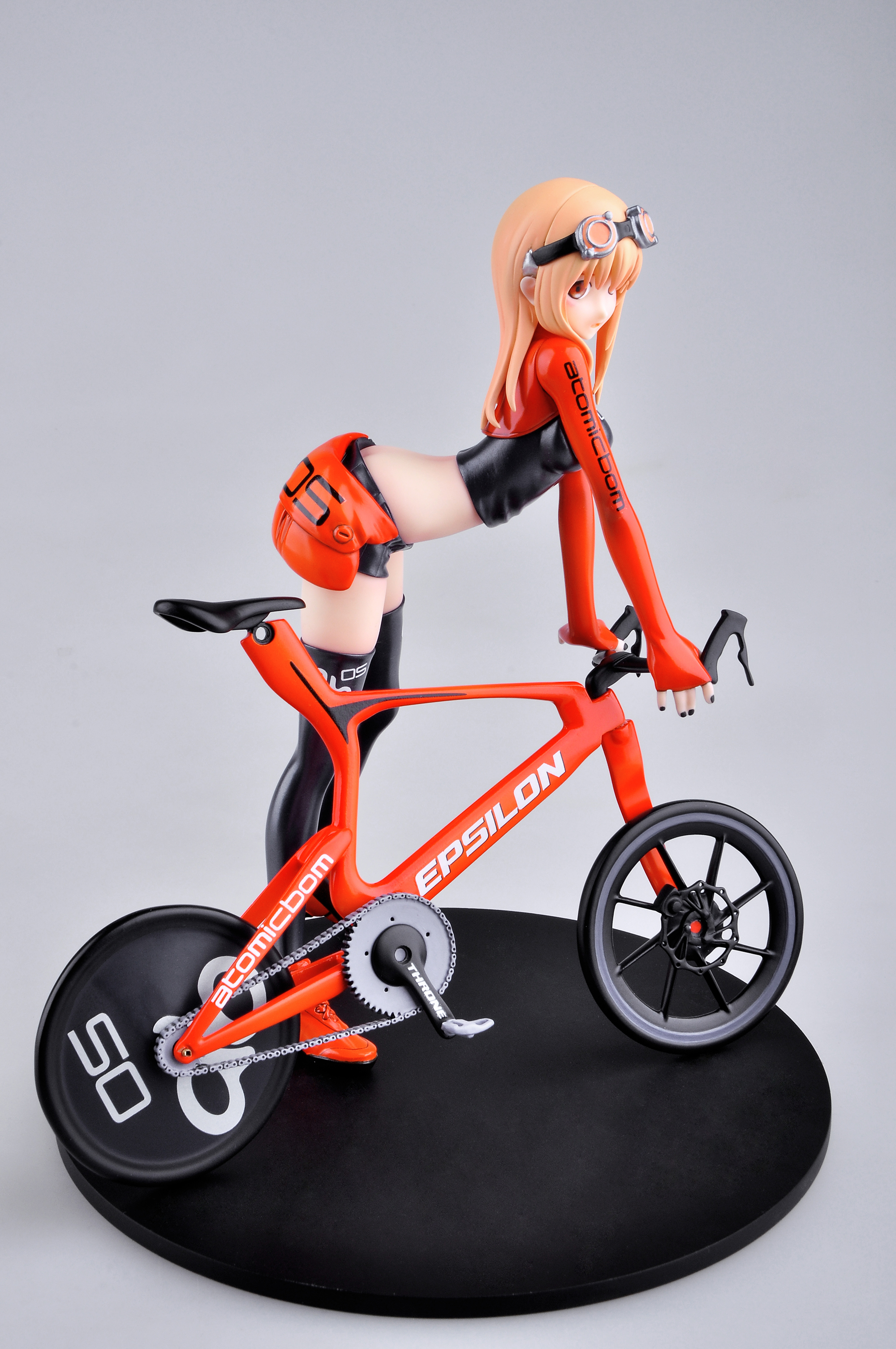 Bicycle & Girl Version 3 Figure by E2046 haruhichan.com E2046 Gathering Series figure 05