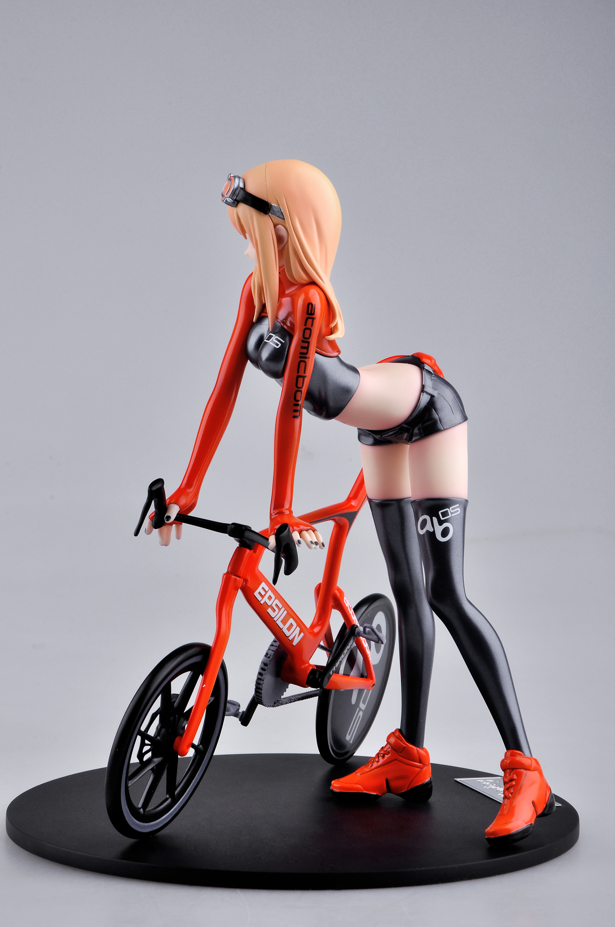 Bicycle & Girl Version 3 Figure by E2046 haruhichan.com E2046 Gathering Series figure 08