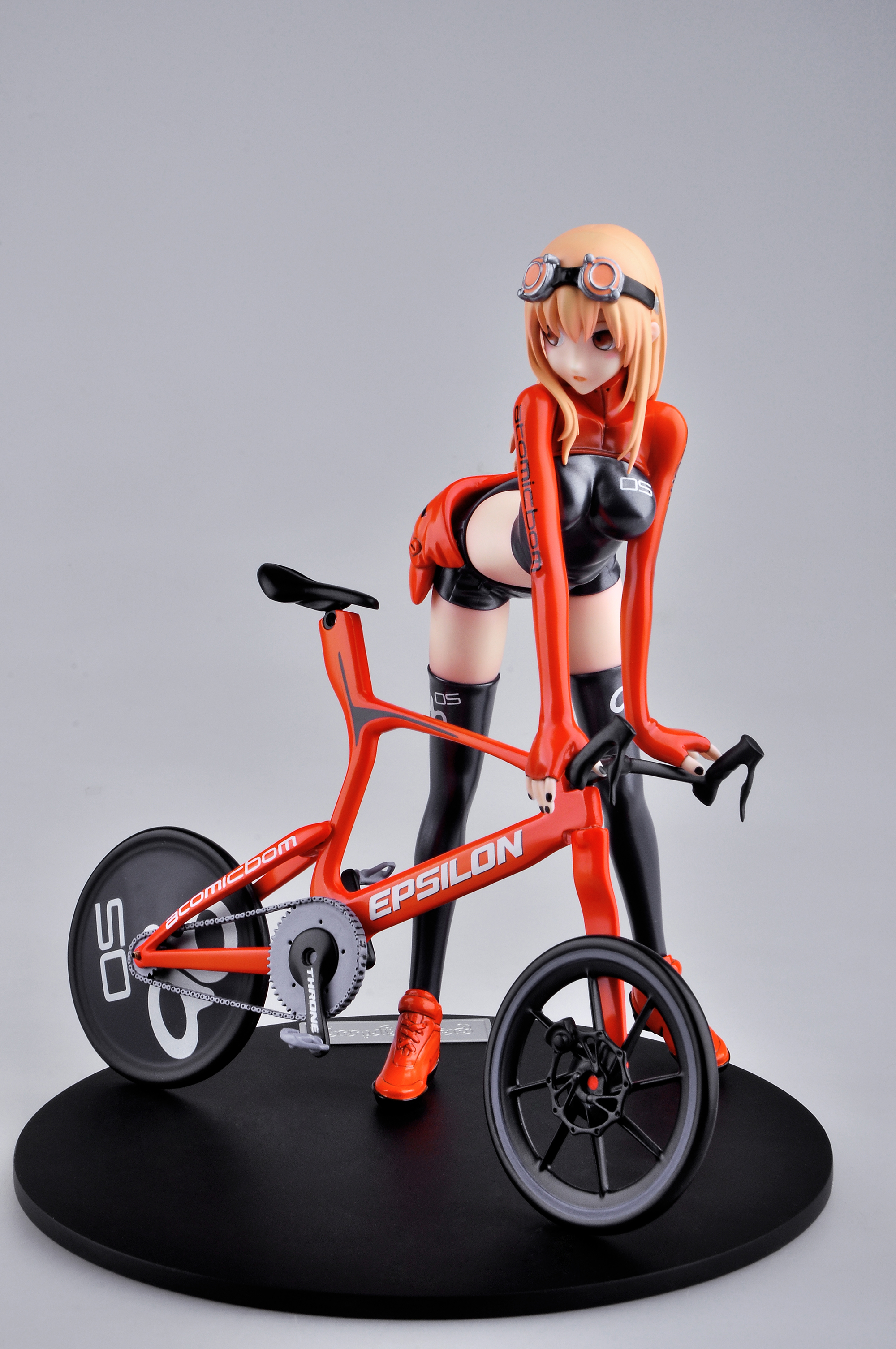 Bicycle & Girl Version 3 Figure by E2046 haruhichan.com E2046 Gathering Series figure 09
