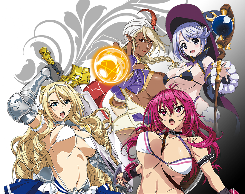 Bikini Warriors second anime visual