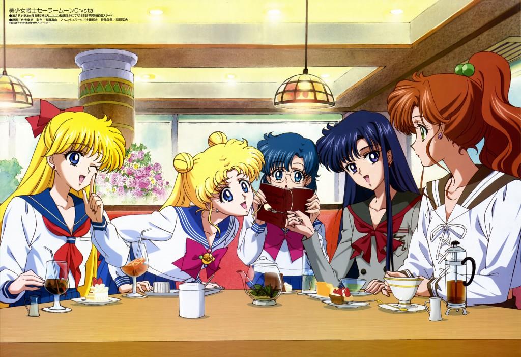 Sailor Moon Crystal animedia magazine scan - July 2014
