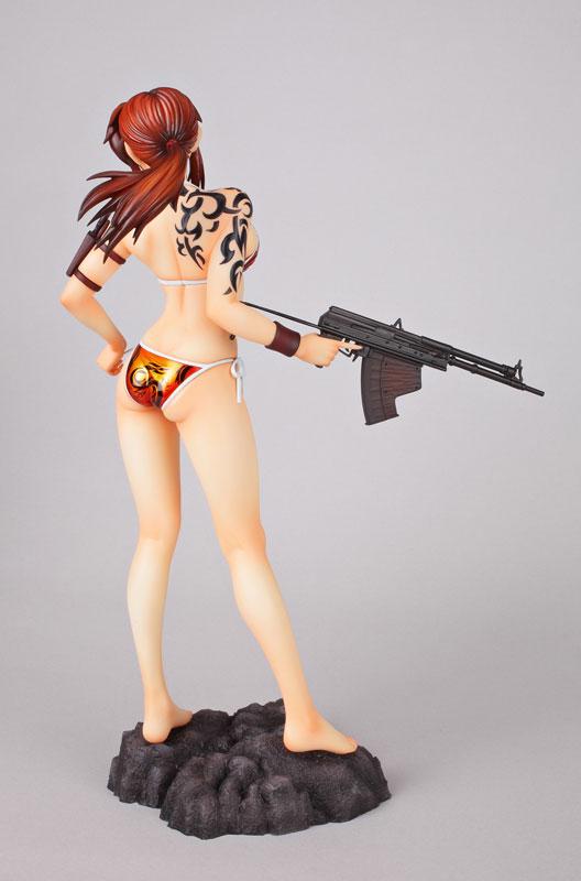 Black Lagoon Revy 1 6 scale anime Figure Swimsuit 004