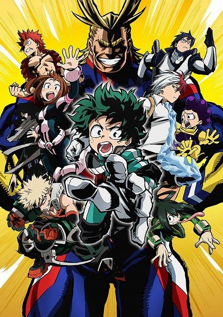 Boku no Hero Academia anime / My Hero Academia anime