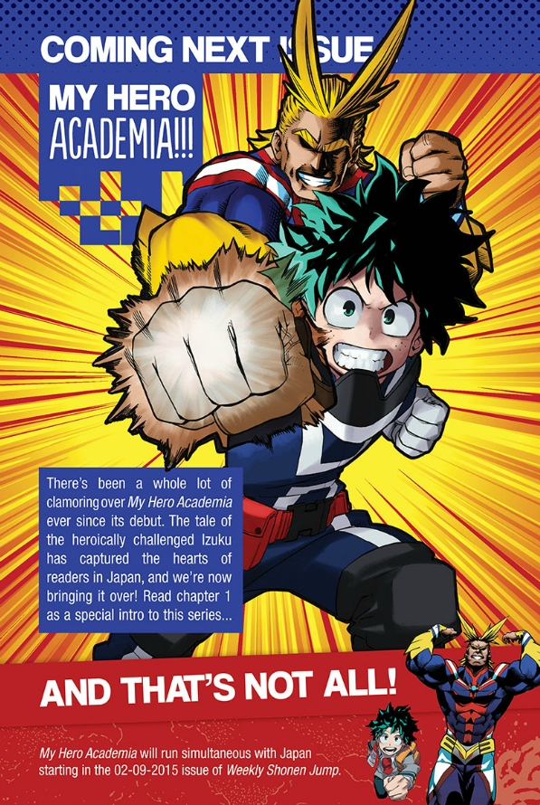 Boku no Hero Academia Manga Serialization Announcement_Haruhichan.com_