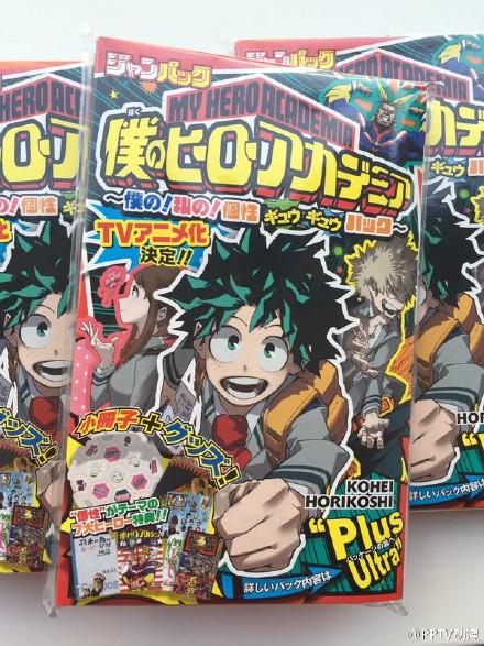 Boku no Hero Academia TV Anime Announcement Leaked