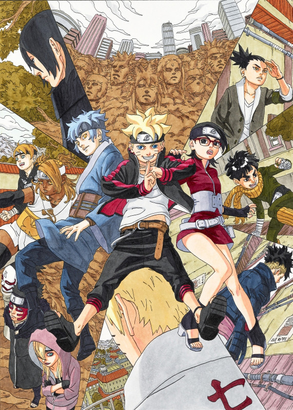 Boruto Manga Set to Release on May 9th2