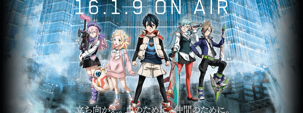 Bubuki Buranki Anime Key Visual