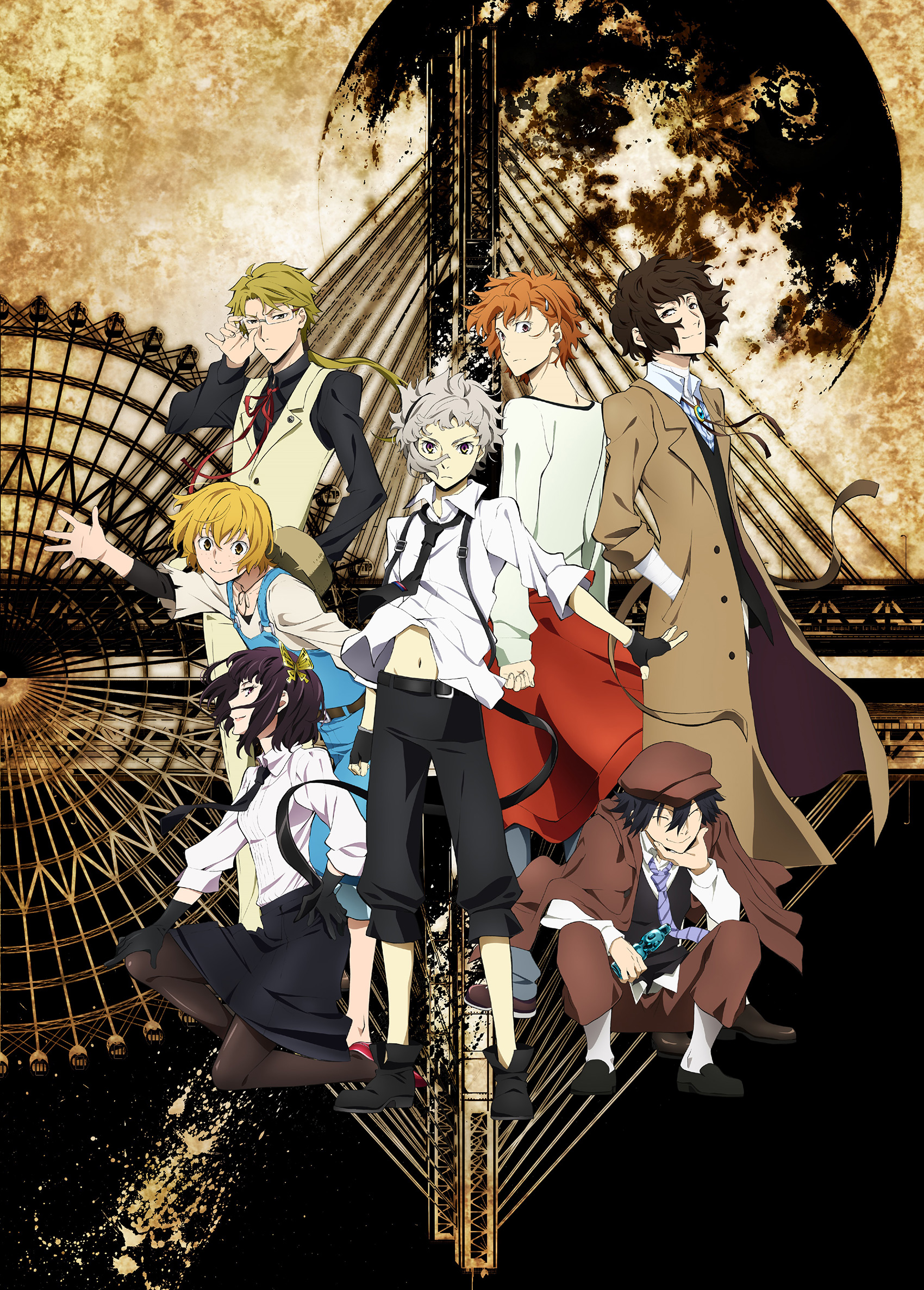Bungou Stray Dogs Slated for April and Visual Revealed