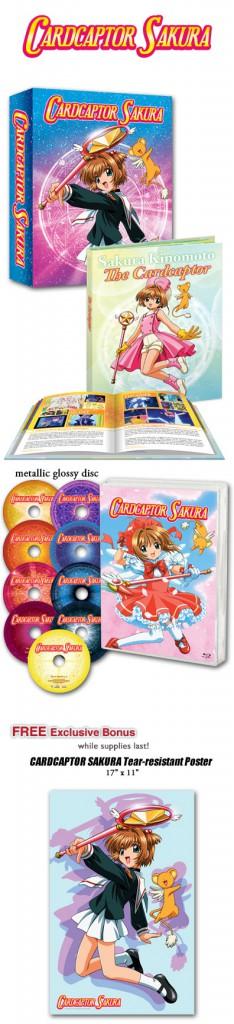 The premium edition of Cardcaptor Sakura.