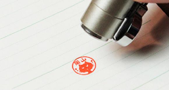 Cat Stamp Pen Mechanical Pencil Tool 4