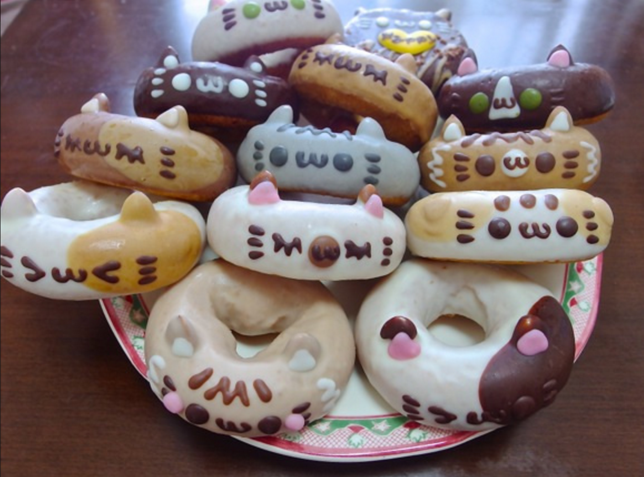 Celebrate Cat Day with Themed Donuts