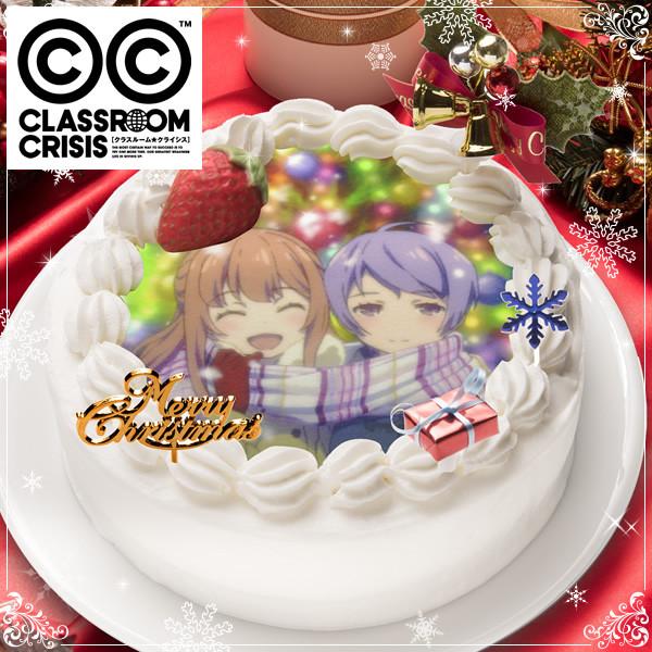 Celebrate Christmas with Madoka Magica Durarara!! and Other Anime Christmas Cakes Anime Sugar 2015 christmas cakes Classroom Crisis 1
