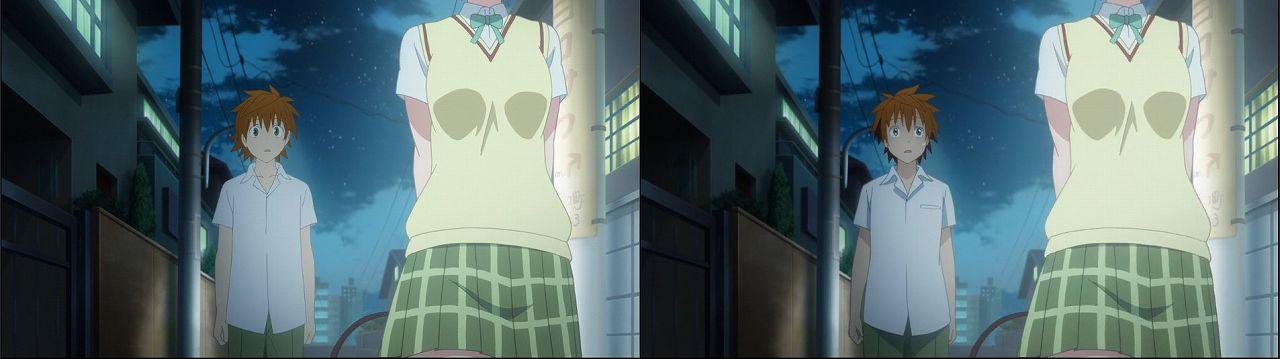 Censored vs Uncensored To LOVE-Ru Darkness 2nd Season Blu-Ray anime 121
