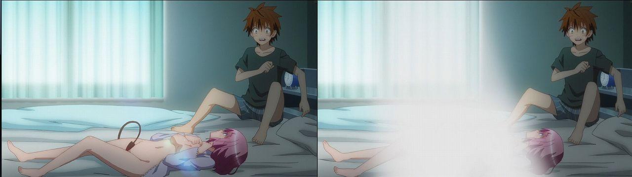 Censored vs Uncensored To LOVE-Ru Darkness 2nd Season Blu-Ray anime 130