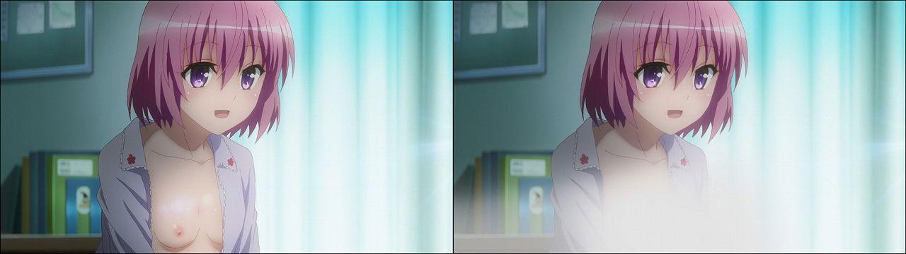 Censored vs Uncensored To LOVE-Ru Darkness 2nd Season Blu-Ray anime 132
