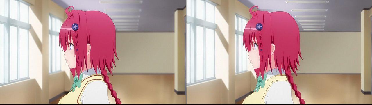 Censored vs Uncensored To LOVE-Ru Darkness 2nd Season Blu-Ray anime 39