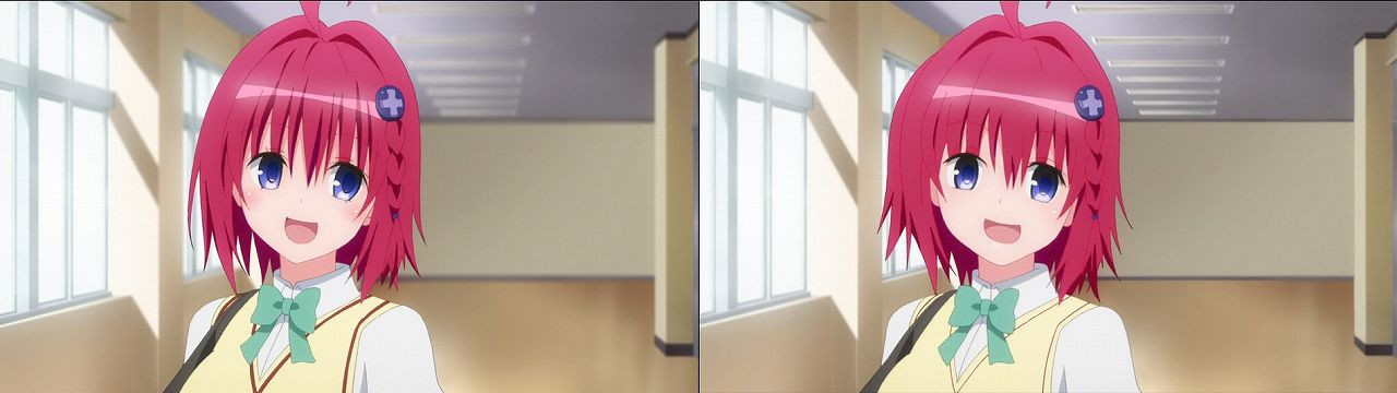 Censored vs Uncensored To LOVE-Ru Darkness 2nd Season Blu-Ray anime 43