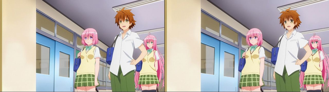 Censored vs Uncensored To LOVE-Ru Darkness 2nd Season Blu-Ray anime 49