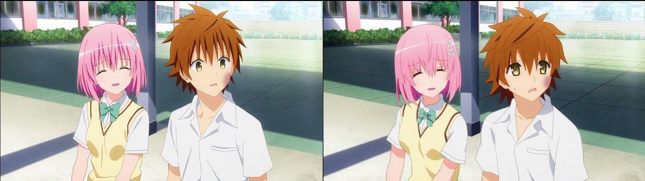 Censored vs Uncensored To LOVE-Ru Darkness 2nd Season Blu-Ray anime 63