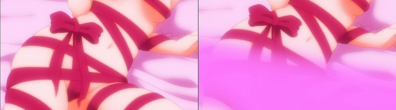 Censored vs Uncensored To LOVE-Ru Darkness 2nd Season Blu-Ray anime 77