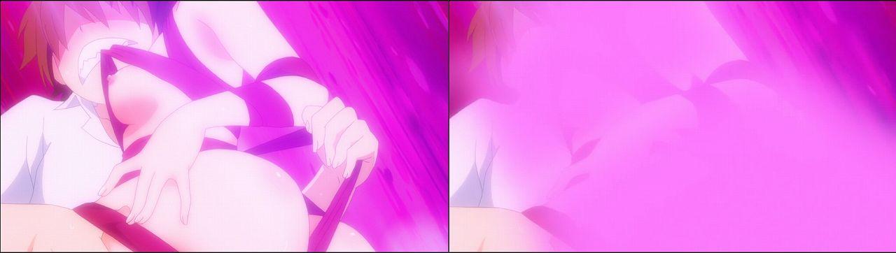 Censored vs Uncensored To LOVE-Ru Darkness 2nd Season Blu-Ray anime 94