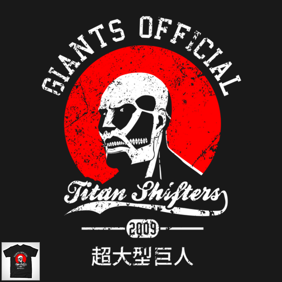 Check out This Amazing Original Attack on Titan Giants Parody T-Shirt haruhichan.com  Shingeki no Kyojin 1