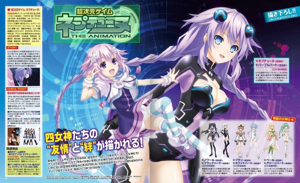 Choujigen Game Neptune The Animation Anime