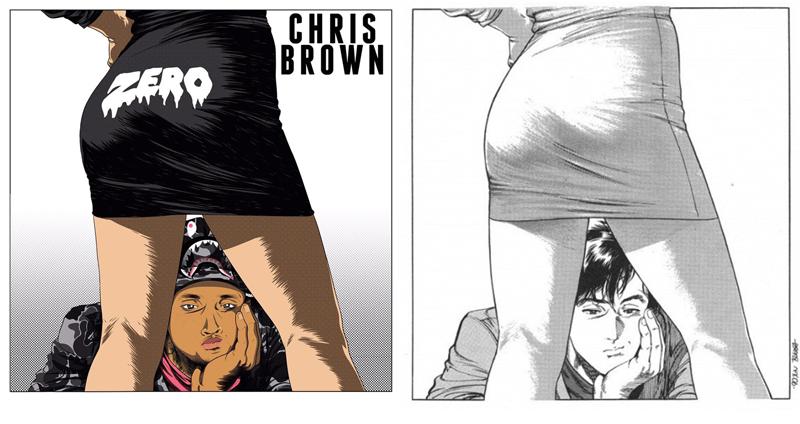 Chris Brown's Zero Art Has Shocking Similarities to City Hunter