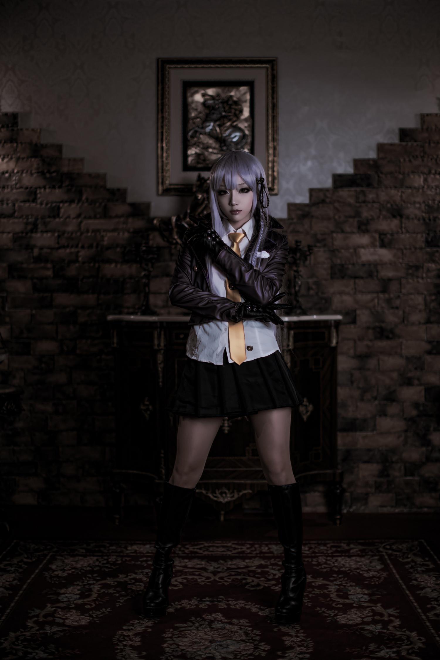Classy Kyouko Kirigiri Cosplay by Aza Miyuko haruhichan.com Danganronpa Kibou no Gakuen to Zetsubou no Koukousei Kyouko Kirigiri cosplay 00