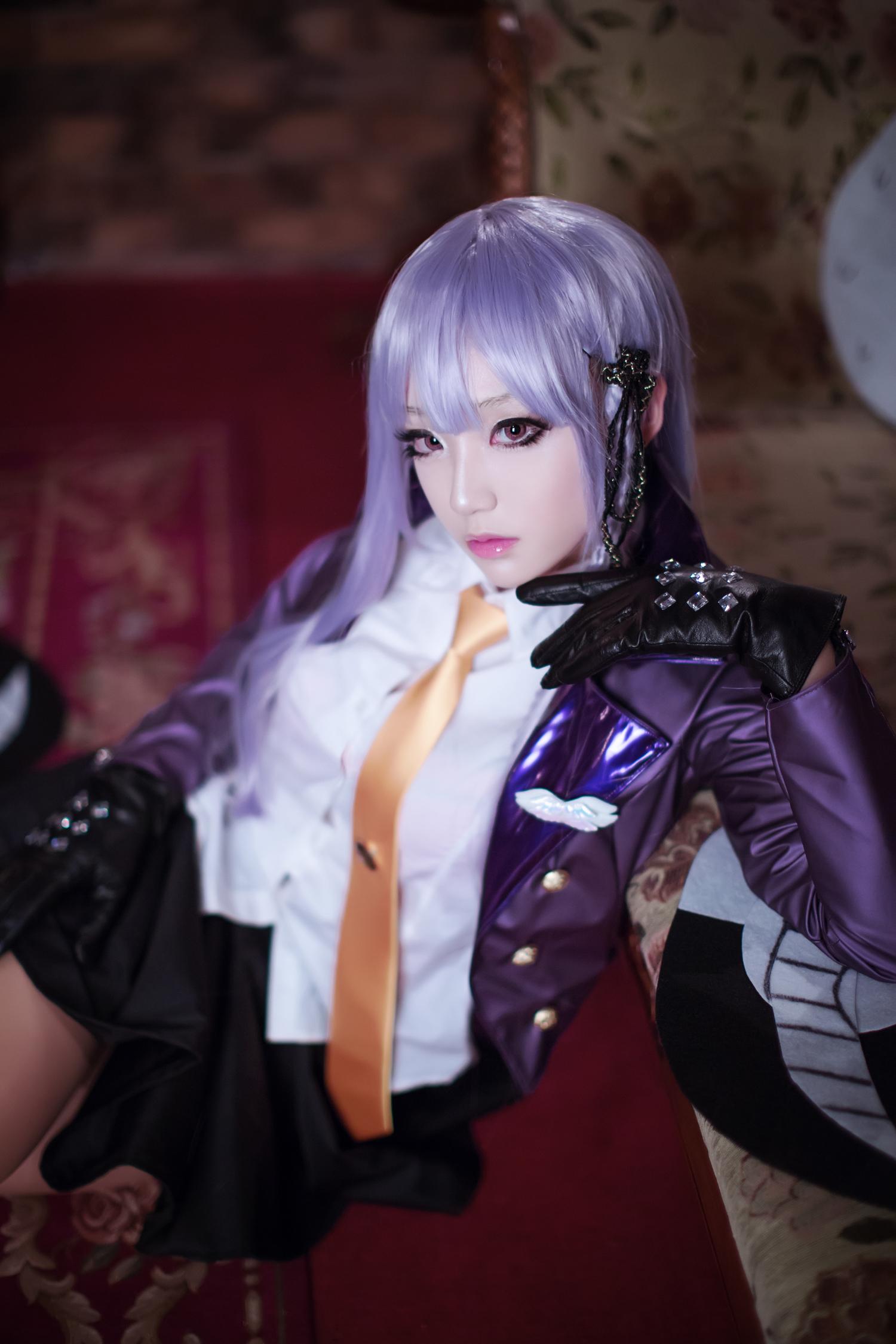 Classy Kyouko Kirigiri Cosplay by Aza Miyuko haruhichan.com Danganronpa Kibou no Gakuen to Zetsubou no Koukousei Kyouko Kirigiri cosplay 11