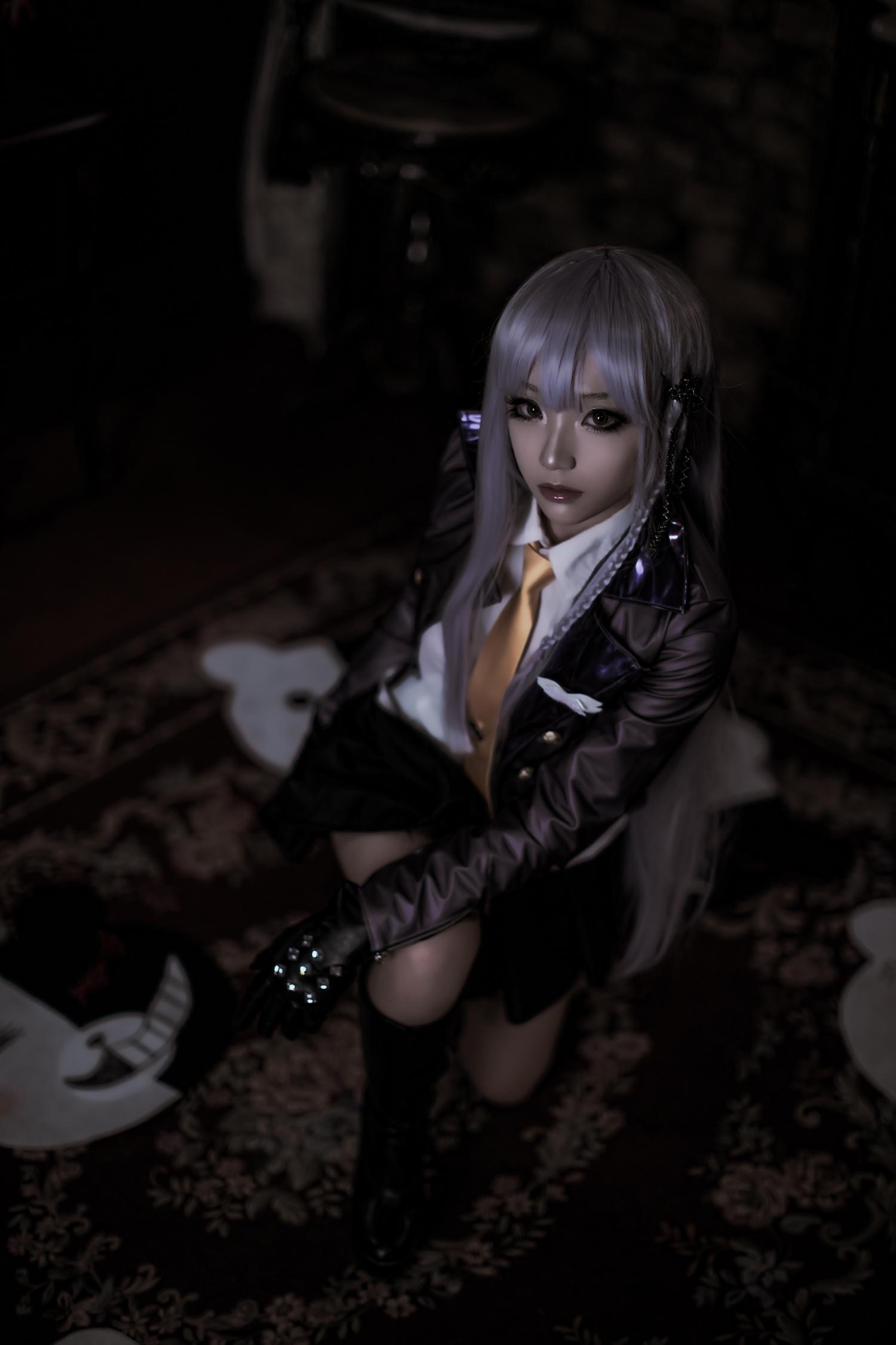 Classy Kyouko Kirigiri Cosplay by Aza Miyuko haruhichan.com Danganronpa Kibou no Gakuen to Zetsubou no Koukousei Kyouko Kirigiri cosplay 19