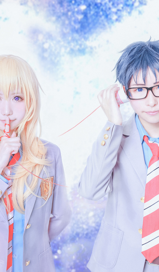 Cosplayers Recreate Beautiful Your Lie in April Photos