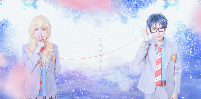 Cosplayers Recreate Beautiful Your Lie in April Photos 11