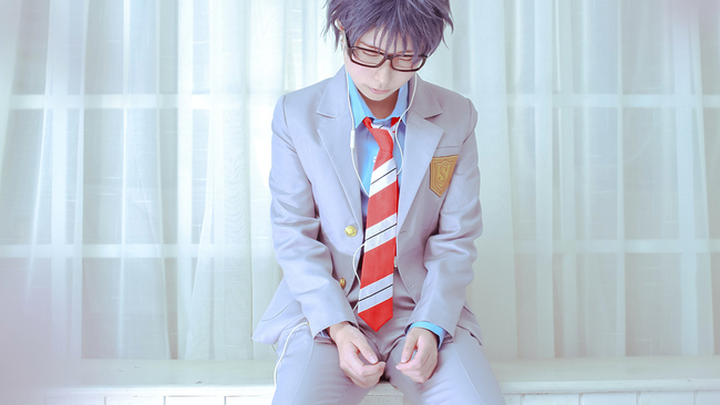 Cosplayers Recreate Beautiful Your Lie in April Photos 7