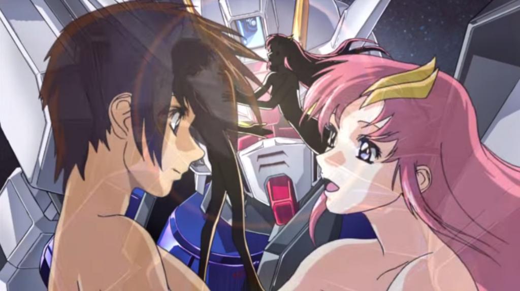 Cross Ange Opening Theme Looks Very Similar to Gundam Seed's Opening Theme haruhichan.com Mobile Suit Gundam Seed Opening Theme 1