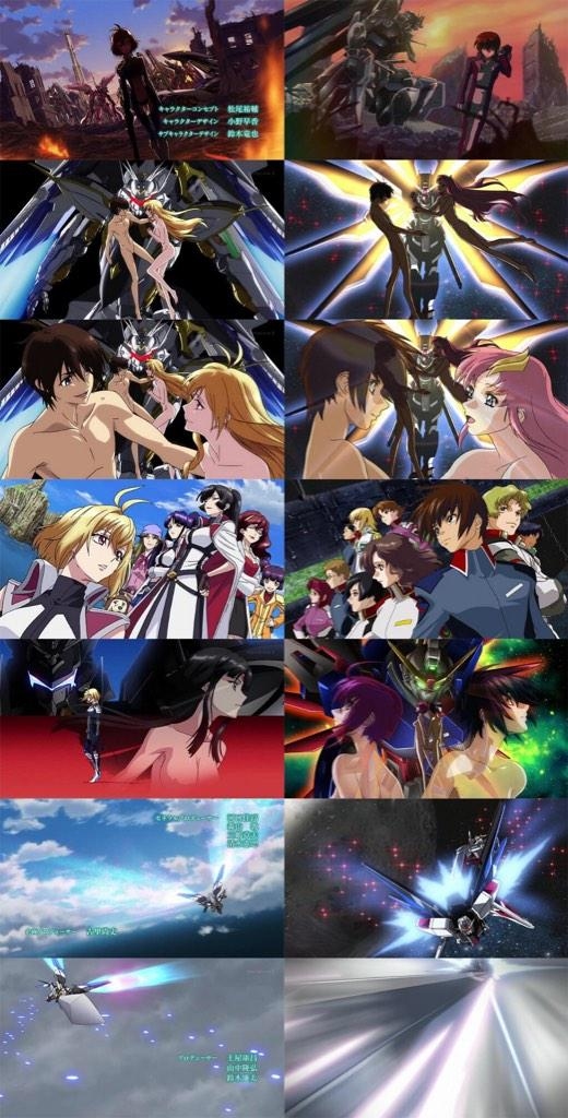 Cross Ange Opening Theme Looks Very Similar to Gundam Seed's Opening Theme haruhichan.com Mobile Suit Gundam Seed Opening Theme anime