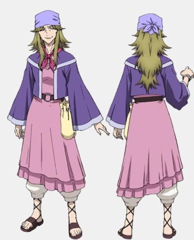 Cross Ange Tenshi to Ryuu no Rondo anime character Jasmine haruhichan.com-クロスアンジュ 天使と竜の輪舞-Fall-2014-anime 1